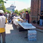 Outside event to feed several hundred